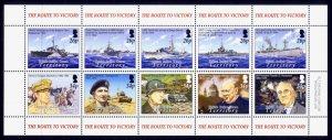 British Indian Ocean Territory Sc# 304 MNH End of World War II (M/S)