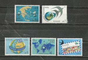Greece # 1232-1236 Mint NH
