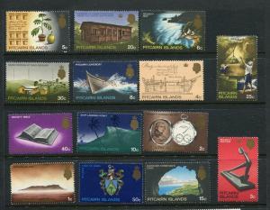 Pitcairn Is #97-109 MNH