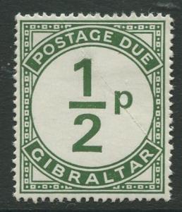 Gibraltar #J4  Postage Due  MLH  Scott CV. $0.60.