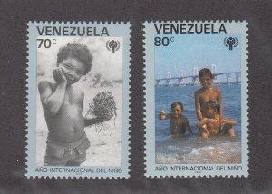 Venezuela MNH 1215-6 International Year Of The Child 1979
