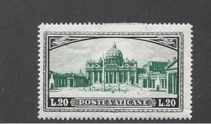 Vatican, 34, St. Peter's Basilica Single, **LH**