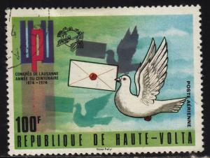 Burkina Faso C189 Dove With Letter 1974
