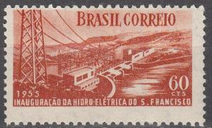 Brazil #815 F-VF Unused