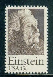 1774 15c Einstein Fine MNH Plt/4 UL 38966 F03978