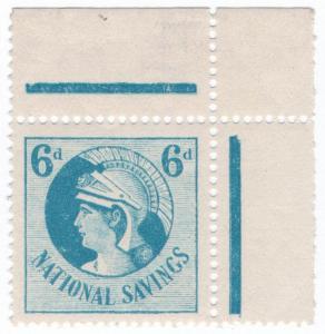 (I.B) Cinderella Collection : National Savings - Britannia 6d (1935)