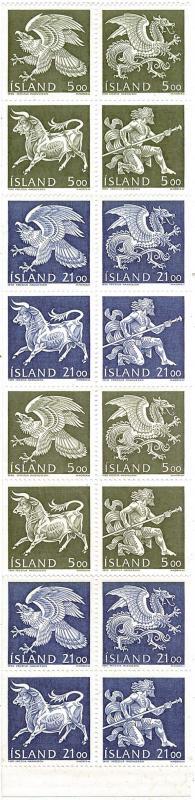 Iceland Scott 695c Mint never hinged.