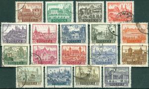 Poland - Scott 947-963