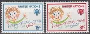 United Nations  #310-11 MNH  (S2963)
