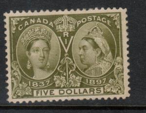 Canada #65 Very Fine Mint Full Original Gum Lightly Hinged