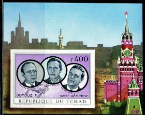 1972 Chad 457/B32b Soyuz 11 - Cosmonauts 25,00 €