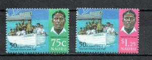 Nauru 432-433 MNH