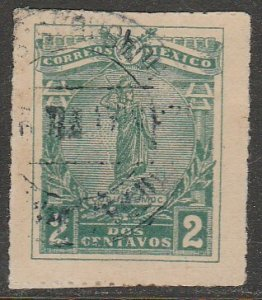 MEXICO 501, 2¢ CUAUHTEMOC, USED. VF. (1003)