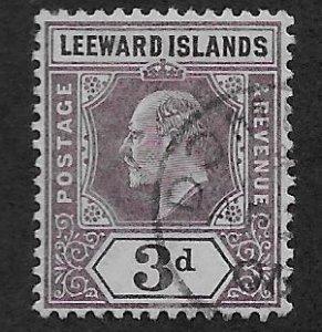 LEEWARD ISLANDS SC# 24  FVF/U 1902