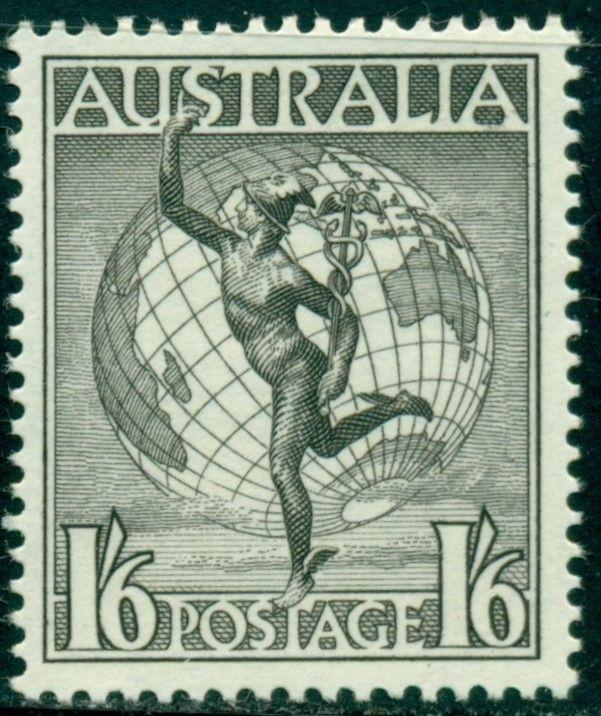Australia Scott #C7 MLH Mercury and Globe CV$18+