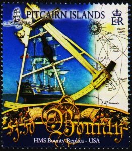 Pitcairn Islands. 2007 $3.50 Fine Used