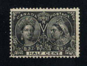 Canada #50  used  VF 1897   PD