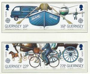 Guernsey   mnh sc 381 - 384