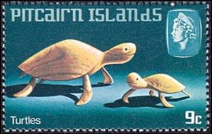 Pitcairn Islands # 194 mnh ~ 9¢ Handicraft - Turtles
