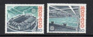 Monaco Sc  1563-64 1987 Europa stamp set mint  NH
