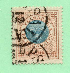 Sweden - Sc# 27 Used / 1 Rd / Perf 14  - Lot 0119219