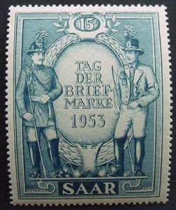 Germany, Saar, Scott 247, LH