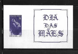 BRAZIL, 1048A, MNH, SS, MOTHER AND CHILD