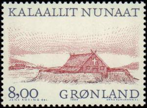 1999 Greenland #351-354, Complete Set(4), Never Hinged