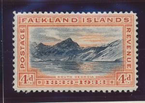 Falkland Islands Stamp Scott #70, Mint Lightly Hinged - Free U.S. Shipping, F...