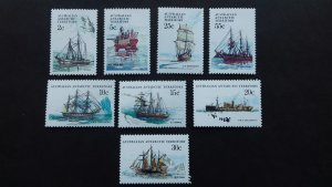 Australian Antarctic 1979 Ships  Unused