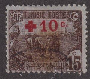 Tunisia B3 Plowing O/P 1916