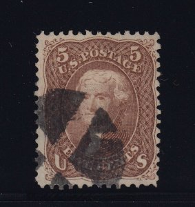 95 F-VF used neat cancel with APS certificate nice color ! see pic !