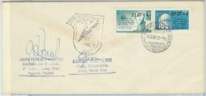 78987a - CHILE - Postal History - COVER from ANTARCTIC BASE: Copernicus 1977