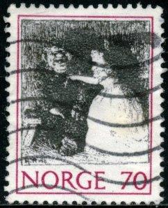 NORWAY #581, USED - 1971 - NORWAY062NS13