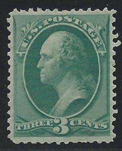 Scott 158, Unused without gum, 1873-5 Continental Banknot...
