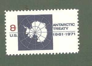 1431 Antarctic Treaty US Single Mint/nh (Free shipping offer)