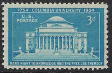 SCOTT # 1029 SINGLE COLUMBIA UNIVERSITY MINT NEVER HINGED GEM !!