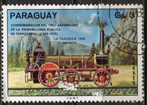 Paraguay; 1976: Sc. # 1639: O/Used Single Stamp