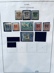 Burma 70//79 Most Mint HR (SCV $9.95)