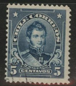 Chile Scott 101 used stamp
