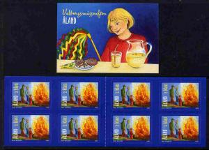 Booklet - Aland Islands 2005 Walpurgis Night 4.00 Euro se...