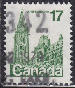Canada 790 USED 1979 Parliament Buildings, Ottawa 17¢