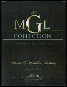 Auction Catalog: Kelleher #725 - The MGL Collection. June 25, 2019