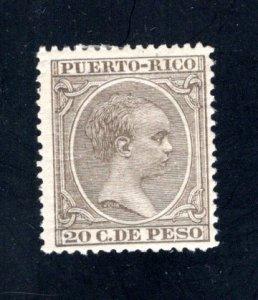 Puerto Rico #125,  F/VF,  Mint Unused,   CV $6.75 ....5180059