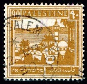 British Palestine STAMP 1927 -1942 Tiberias 90M USED  $125