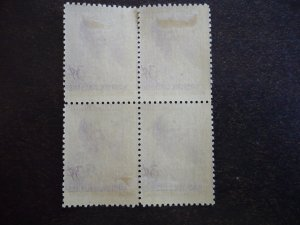 Stamps - Cuba - Scott# 392 - Mint Hinged Block of 4 Stamps