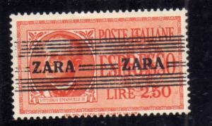 GERMAN ZARA OCCUPAZIONE TEDESCA 1943 ESPRESSO SPECIAL DELIVERY LIRE 2,50 MNH
