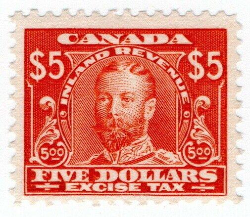 (I.B) Canada Revenue : Excise Tax $5