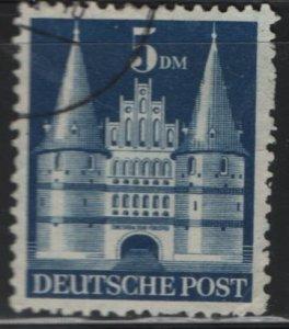 Germany, 661, USED, 1948-51 Holsten Gate Lubeck