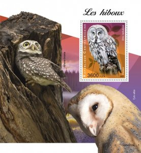 C A R - 2021 -Owls - Perf Souv Sheet - Mint Never Hinged